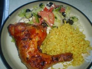 caribbean bbq dinner