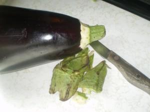 eggplant choka baigan