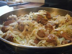 trini fry cabbage recipe