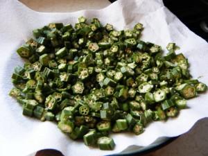 how to fry ochro trini style