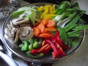 trini chow mein