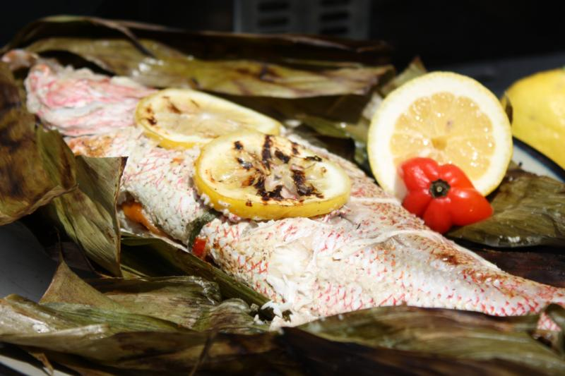 Caribbean inspired grilled red snapper for Snapper fish recipes