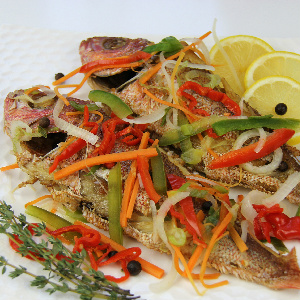 Jamaican style escovitch fish for Jamaican fish recipe
