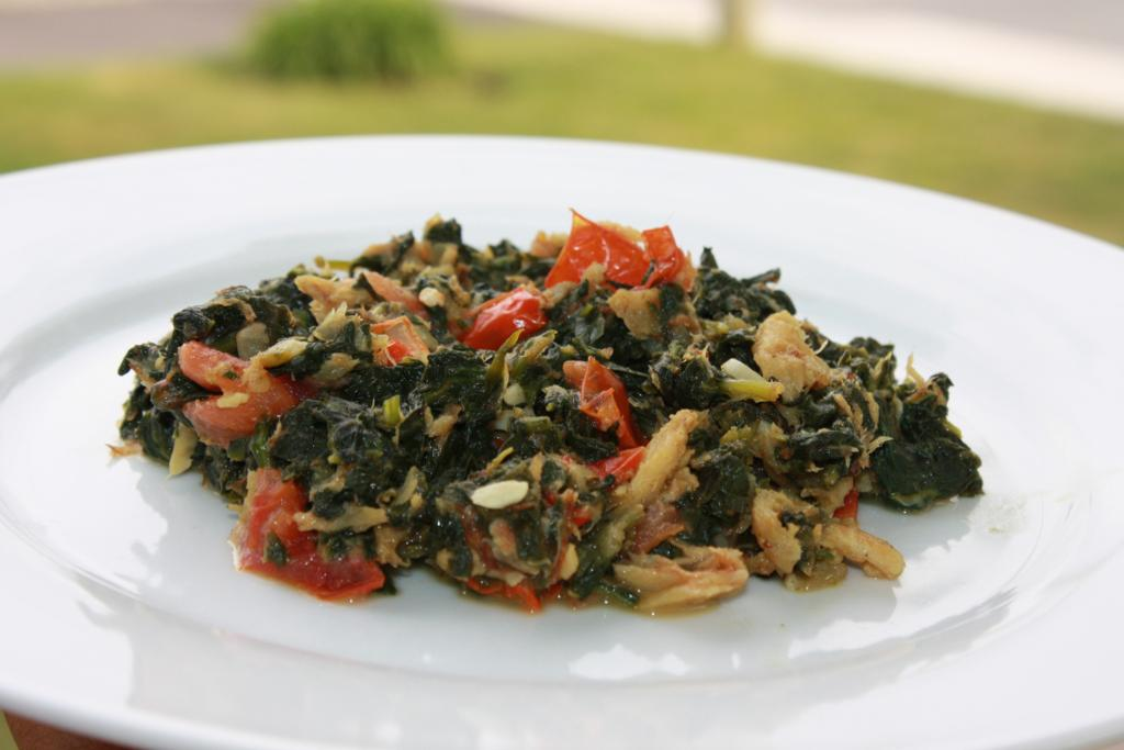 how to prepare baby spinach leaves