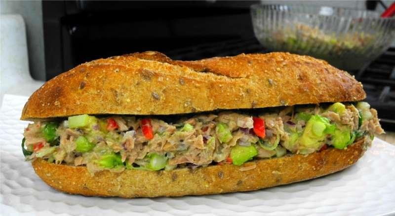 Caribbean Style Tuna Sandwich Spread. | CaribbeanPot.com