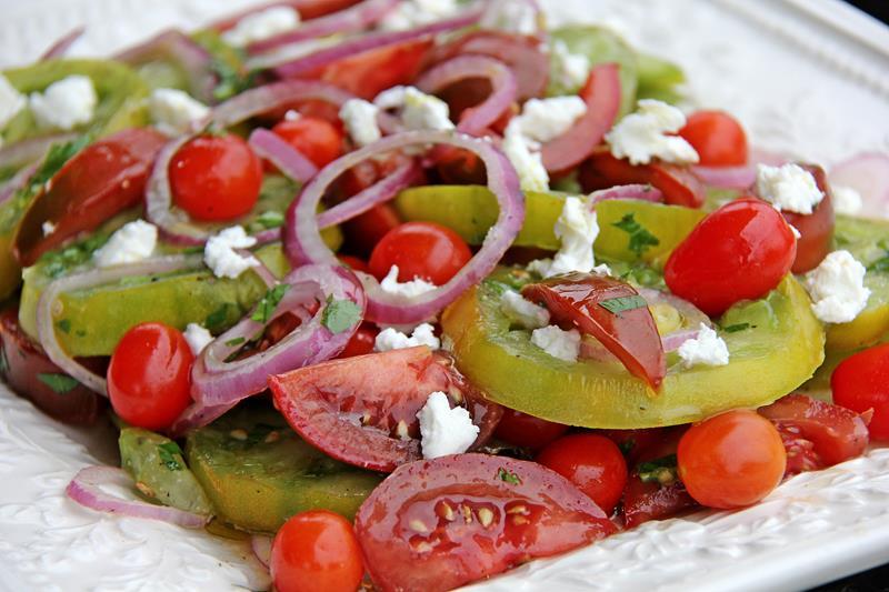 Gluten Free tomato salad (9)