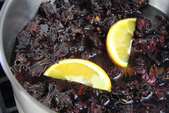 cranberry sorrel rum punch (5)