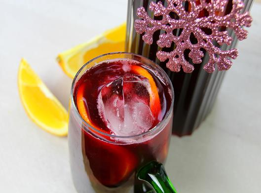 cranberry sorrel rum punch (9)