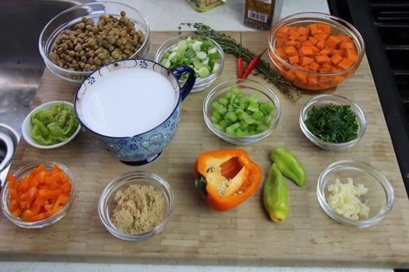 vegetarian gluten free pelau (1)