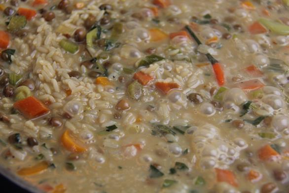 vegetarian gluten free pelau (9)
