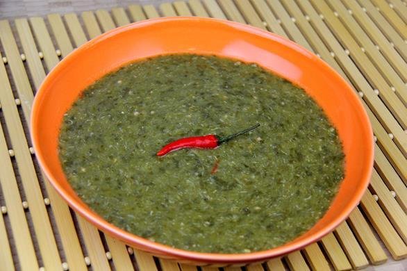 Vegetarian Trinidad callaloo (1)