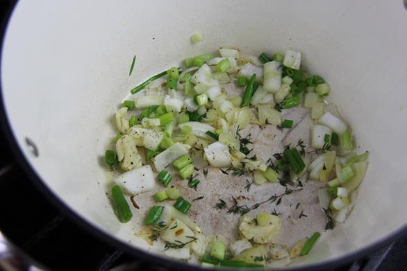 Vegetarian Trinidad callaloo (3)