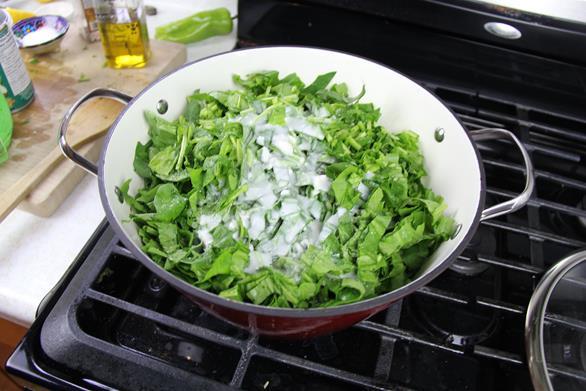 Vegetarian Trinidad callaloo (7)