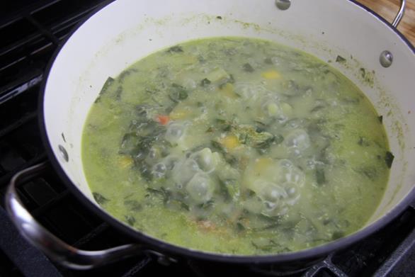 Vegetarian Trinidad callaloo (9)