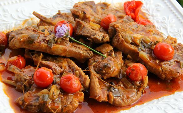 Caribbean style stewed lamb chops caribbeanpot lamb stew 5 forumfinder Images