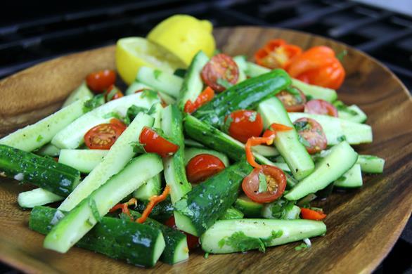 spicy cucumber salad (9)