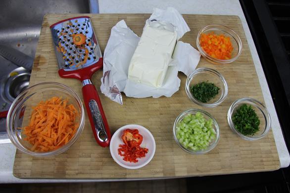 vegetable cream cheese spread (1)