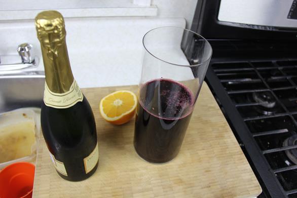 Champagne Sorrel Drink (5)