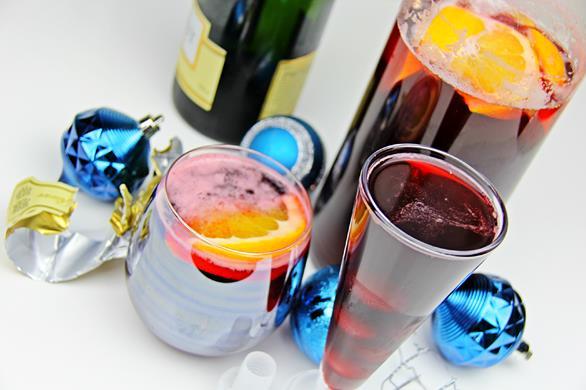 Champagne Sorrel Drink (7)