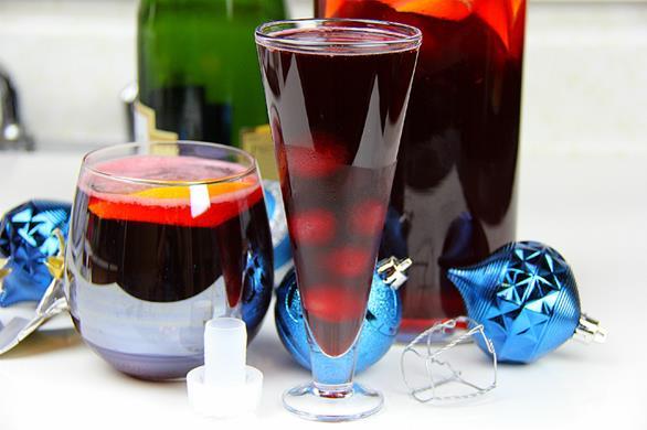 Champagne Sorrel Drink (8)