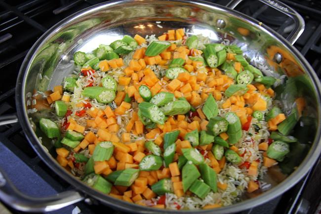 okra rice (4)