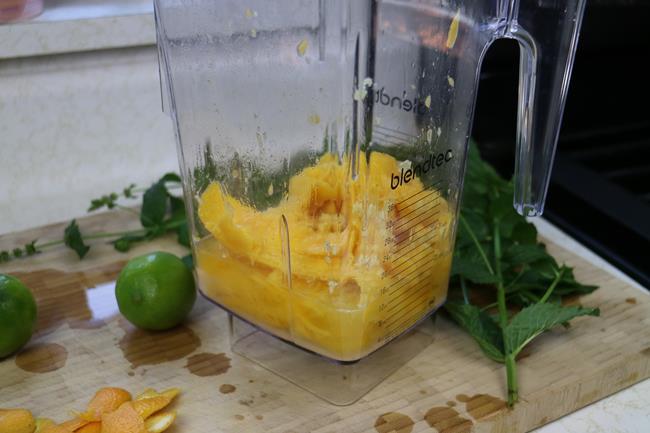 virgin mango mojito (2)