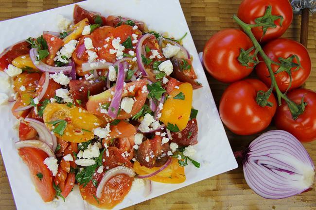 heirloom tomato salad (9)