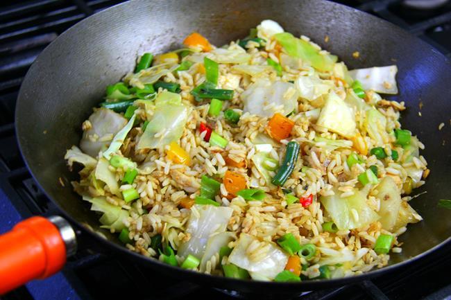 salmon fried rice (6)