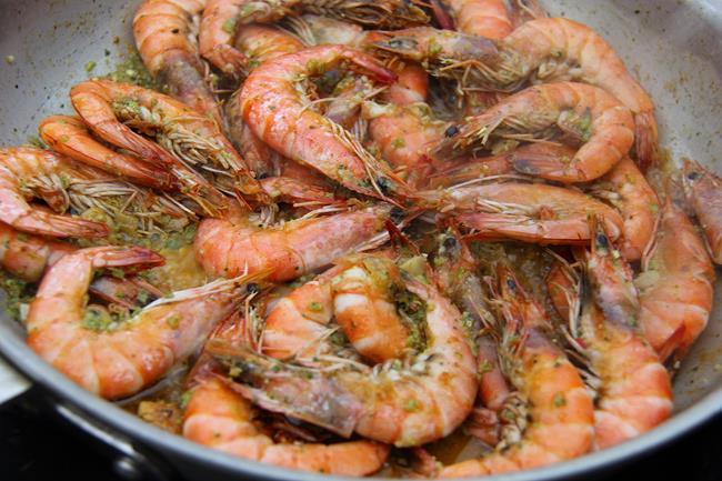 scotch bonnet pesto shrimp (7)
