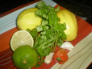 green-mango-chutney