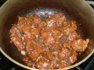 delectable stewed beef recipe, the Caribbean way. | CaribbeanPot.com