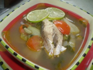 A vintage trinbagonian fish broth the cure for for Fish broth recipe