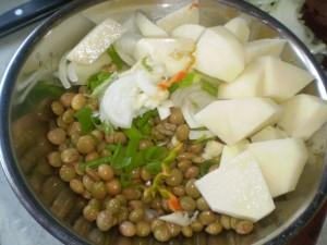 curry pigeon peas recipe (4)