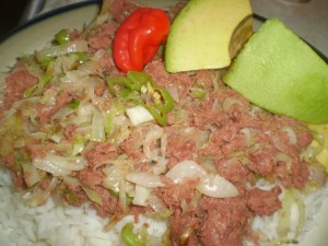 trinidad corned beef and cabbage