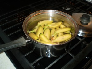 banana cooked with salted fish caribbean recipe (8)