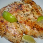 caribbean herb roasted chicken