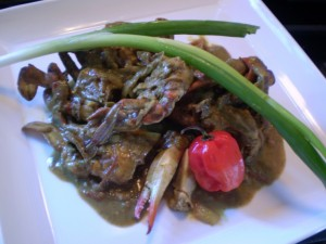 trinidad curry crab