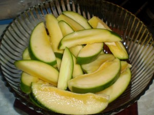 green mango for talkari