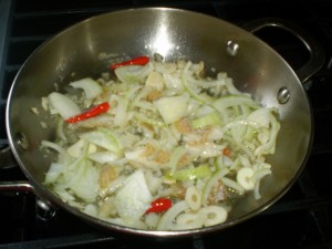 how to make tomato and saltfish