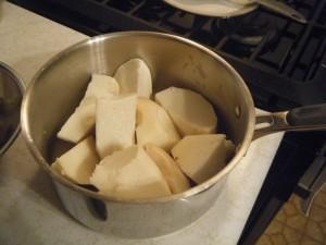 boil yam