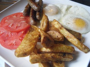 seasoned breakfast fries