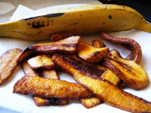 how to fry plantain
