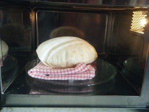 how to swell a sada roti