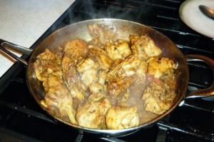 guyana chicken curry
