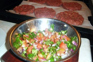 hamburger salsa