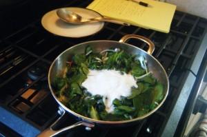 how to cook trinidad bhaji