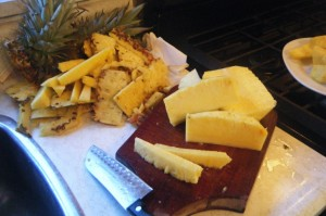 quick pineapple salad