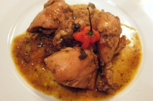 trinidad curry chicken