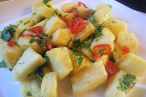 trinidad pineapple salad