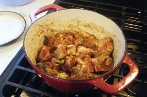 currying goat recipe